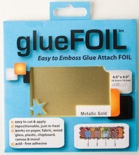 glueFOIL Metallic Gold 4x4