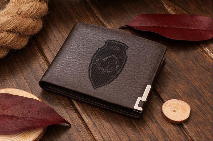 House Fortemps Leather Wallet