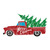 Christmas Red Truck SVG, Christmas Tree Truck SVG files