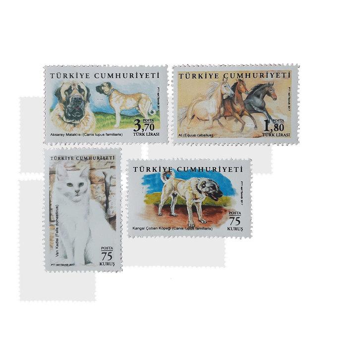 Animals Stamps set of 4 MNH Turkey 2017