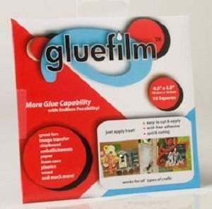 gluefilm clear 4x4