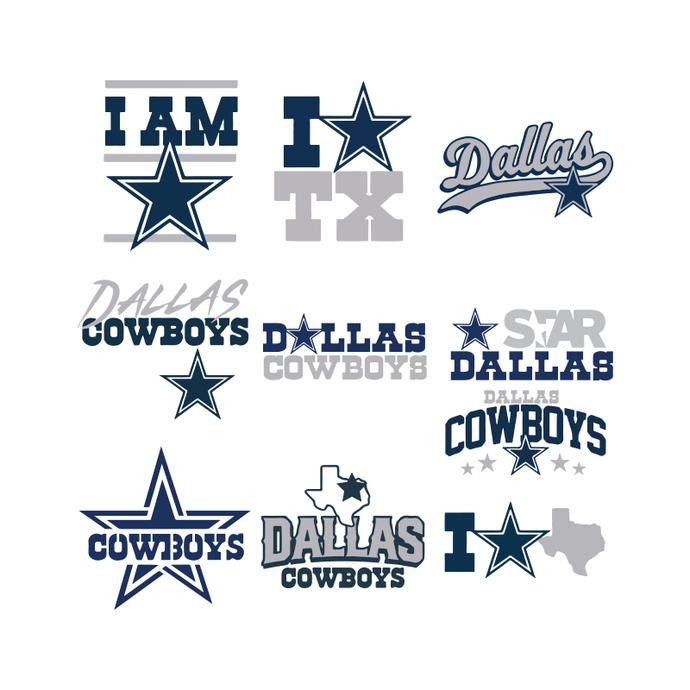 Dallas Cowboys Svg, Cricut File, Svg, Bundle, NFL Svg, Football Svg, Sport Svg,