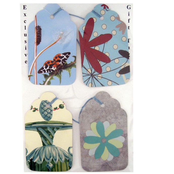 Five Large Design Gift Tag Set