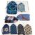Blue Themed Handmade Gift Tag Set