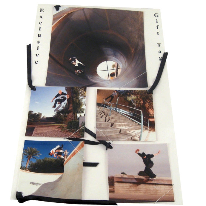 Skateboard Gift Tag Set