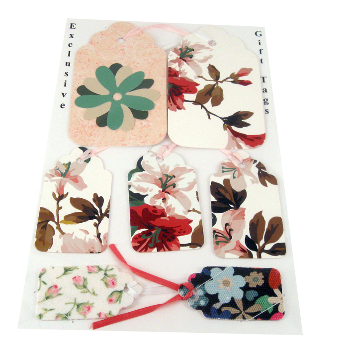 Charming Flower Garden Variety Gift Tag Set