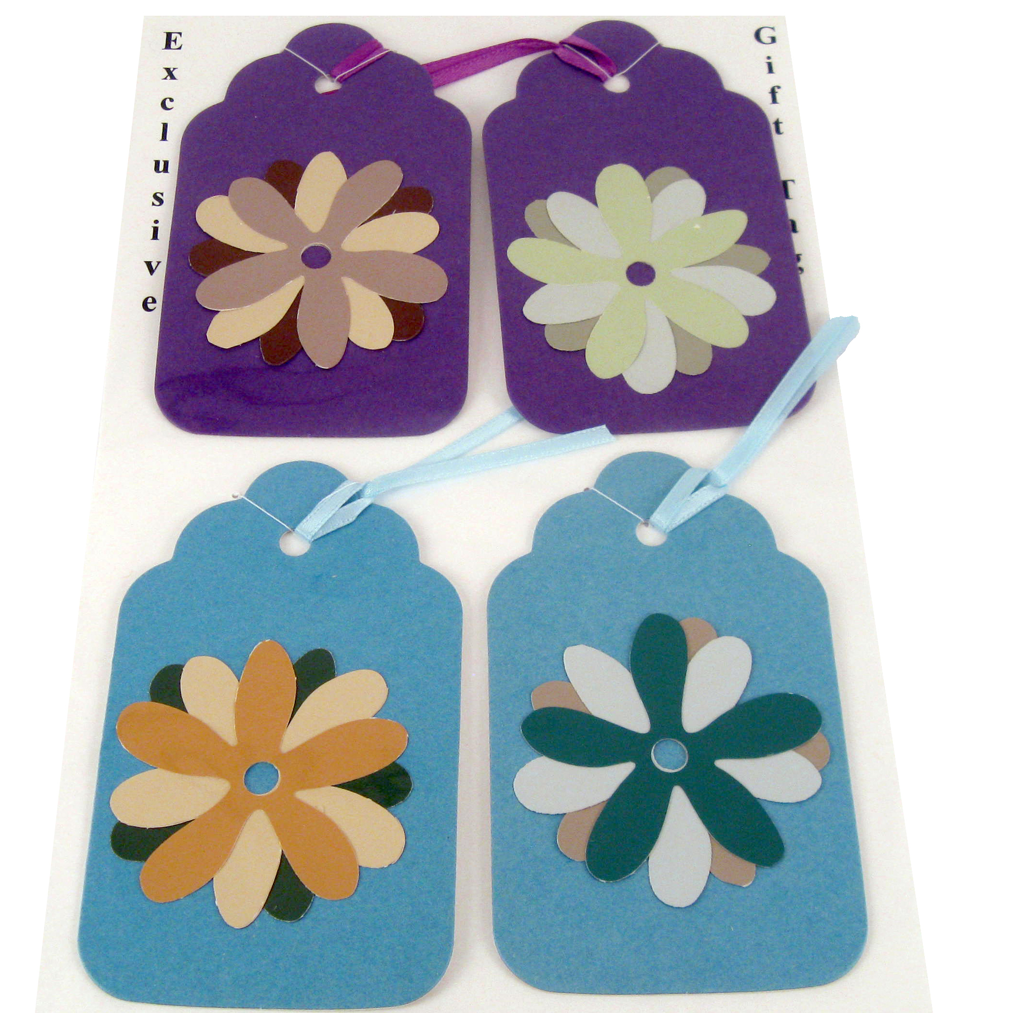 Creative Flower Garden Variety Gift Tag Set