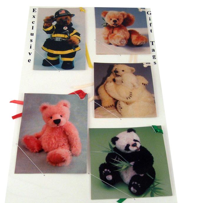 Teddy Bear Variety Gift Tags