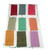 Shiny Colorful Fabric Gift Tag Set