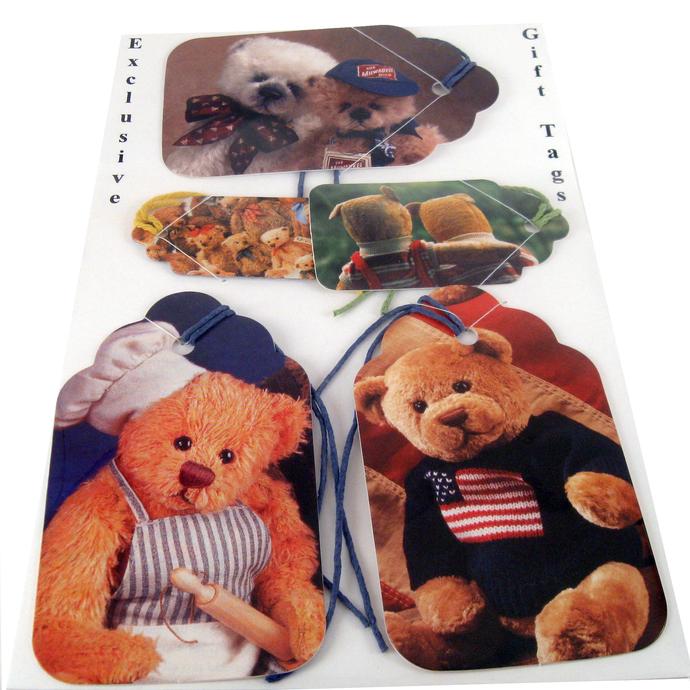 Teddy Bear Gift Tag Set