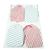 Pink Blue Striped Wallpaper Gift Tag Set