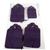 Handmade Purple Gift Tag Set