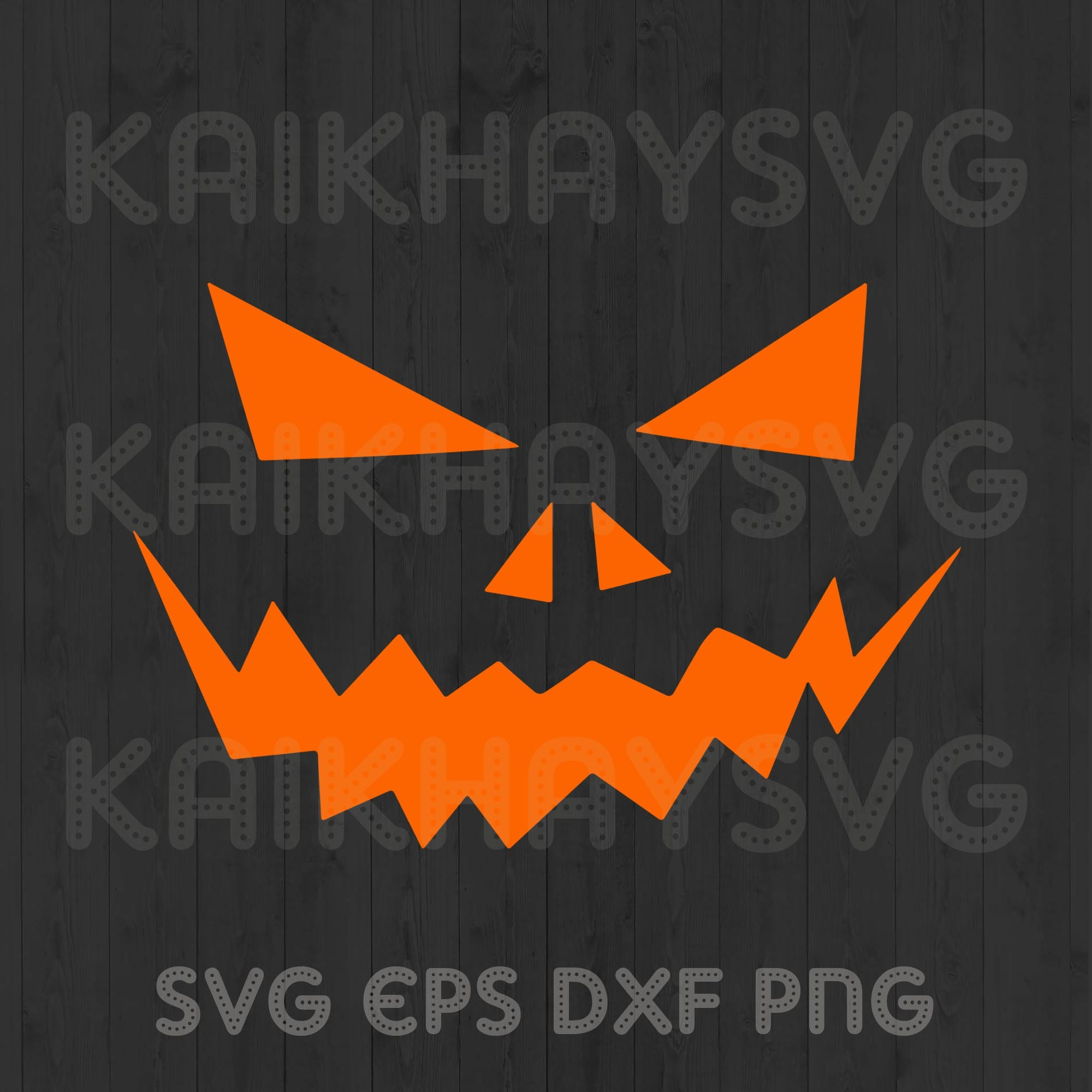 Pumpkin Svg Mask Face Svg Scarecrow Face By Kaikhaystore On Zibbet