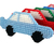 Freestanding Car Christmas Ornament