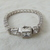 vintage Judith Ripka art deco bracelet sterling silver czs signed unused mint
