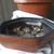 Repurposed Vintage Wooden Mandala Art Bowl