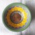 "Wooden mini 2.5"" Sunflower Mandala Bowl"