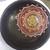 Repurposed, Vintage, Wood Bowl, Small Mandala Design