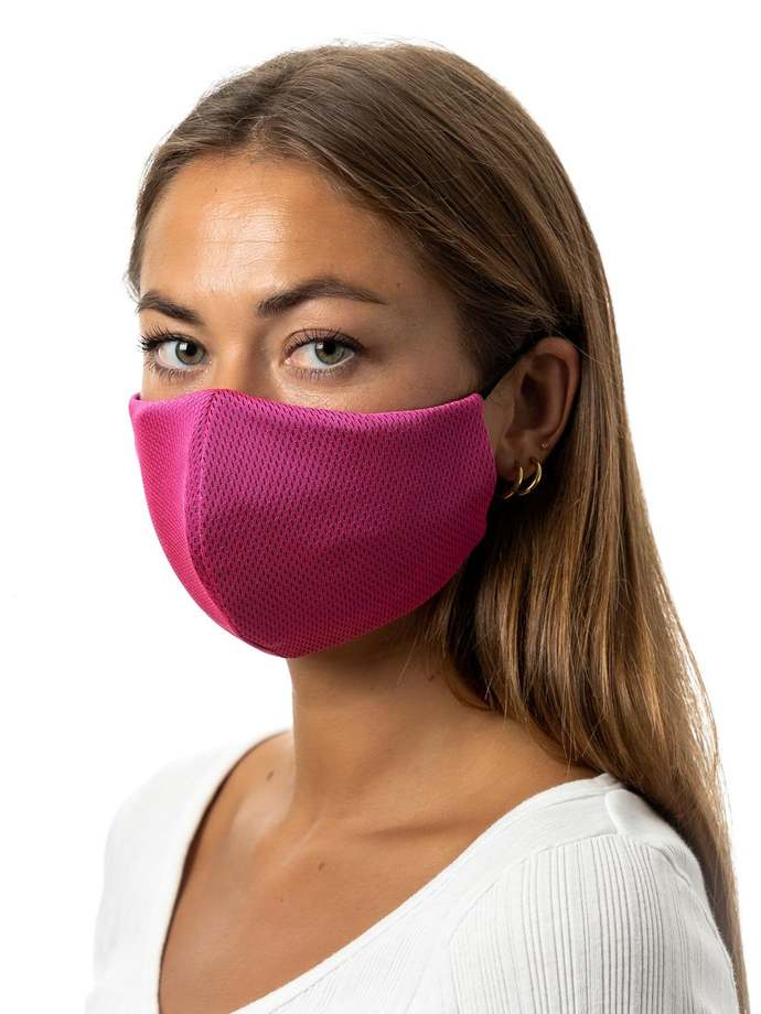 Cloth Face Mask 3D USA w/Filter Pocket & Nose Wire Mouth Covering Washable