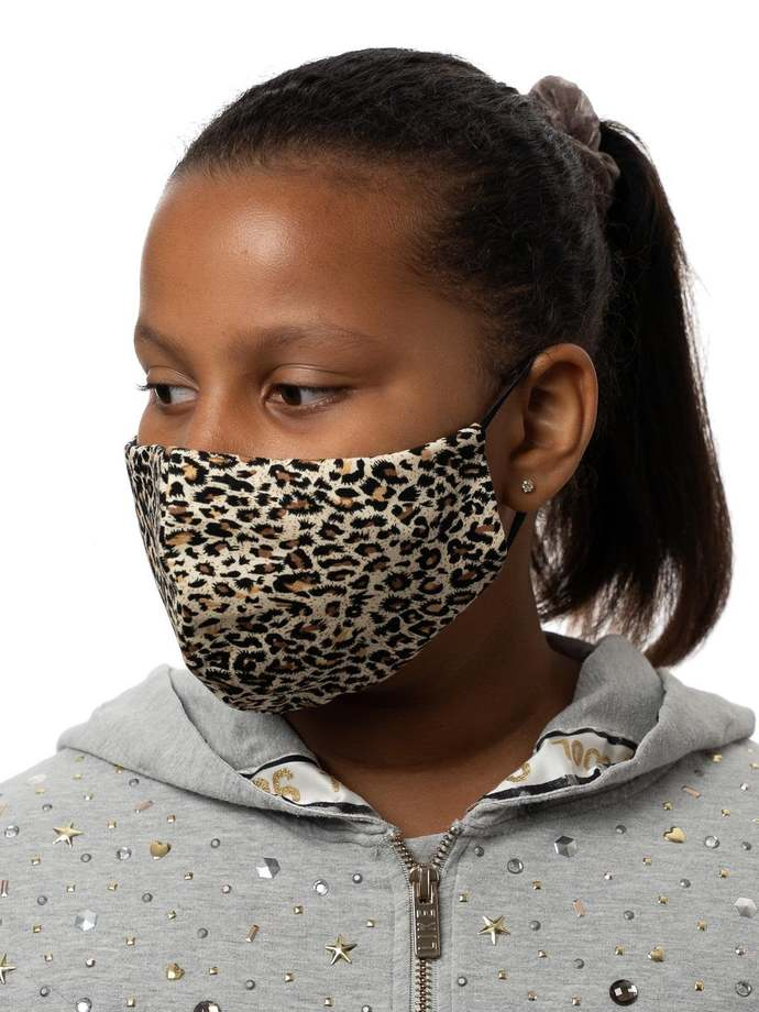 Kid Teen Size Face Mask Breathable US 3 Layer w/Filter Mouth Covering, Soft