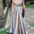 Timeless Off Shoulder Grey Split Formal Prom Dress