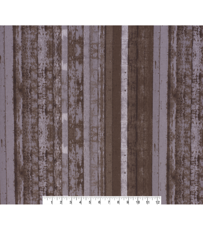 Beige Distressed Wood Quilting Cotton