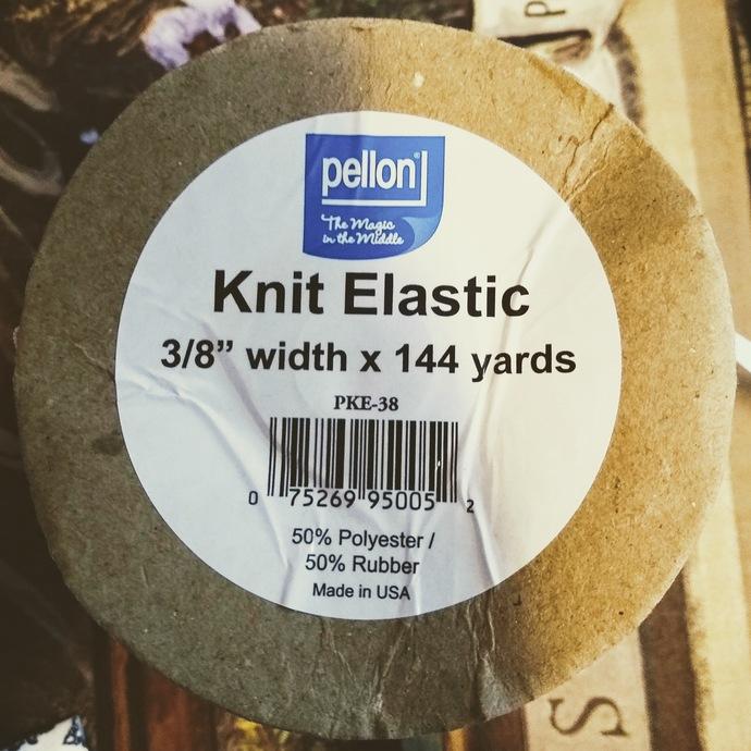 """3/8"""" Knit Elastic"""