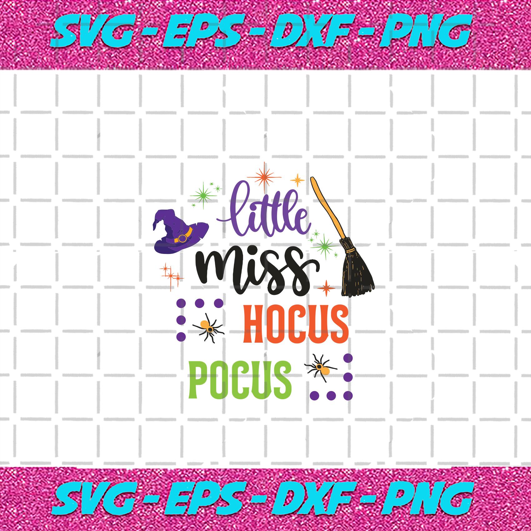 Little Miss Hocus Pocus Svg Halloween Svg By Alan Store On Zibbet