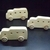 Pkg of 3 Handcrafted Wood Toy Buses 349AH-U-3 unfinished or finished