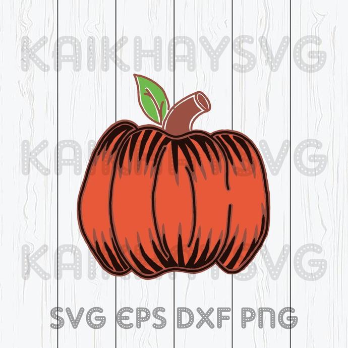 Leopard Pumpkin Svg Pumpkin Svg Happy By Kaikhaystore On Zibbet