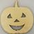Jack O Lantern Wood Cut Out/ Laser Cut Wood / Halloween