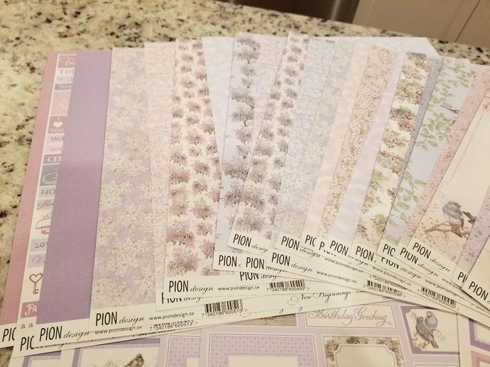 Pion Design Paper Kit – New Beginnings