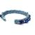 Upcycled jeans cuff bracelet with lapis and silver beads, Boho bracelet, gypsy