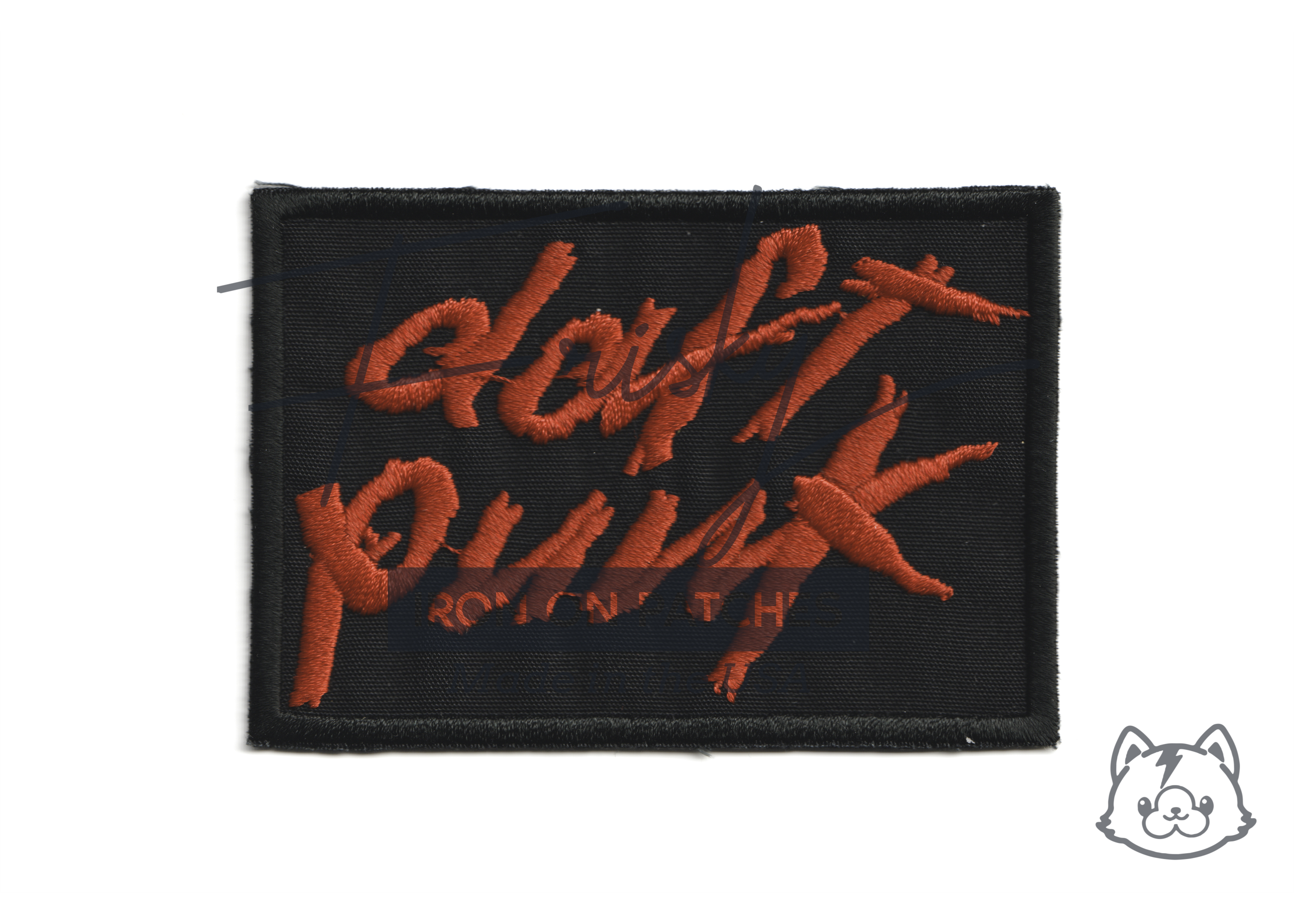 Daft Punk Iron On Patch