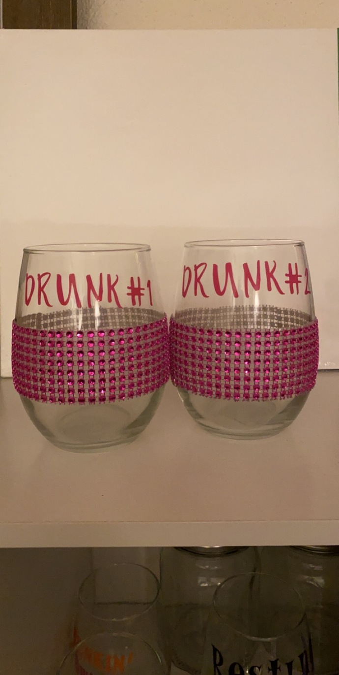 Drunk 1 and 2 glasses