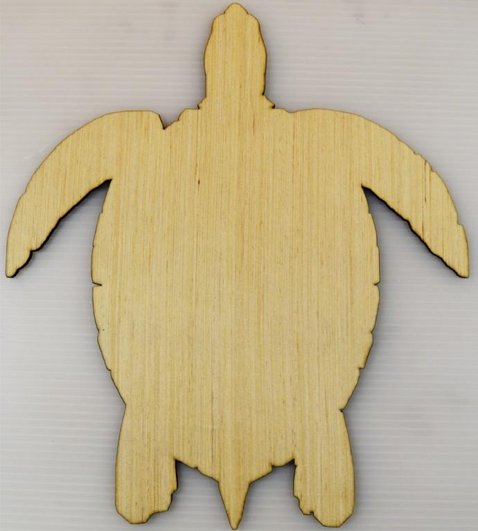 Turtle  / Nautical Wood Cut Out / Laser Cut Wood