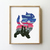 Cat counted cross stitch pattern galaxy fairy cat cartoon city love marie