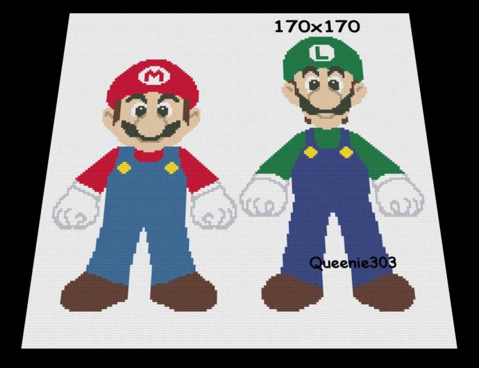 Mario and Luigi 170x170