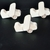 Pkg of 3 Handcrafted Wood Toy Airplanes 164CAAH-U-3 unfinished or finished