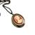 Victorian style cameo locket, keepsake jewelry, carnelian lady cameo, vintage