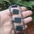 Gray Beaded Ladder Bracelet