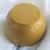 "2.5"" Mini Bowl, Hand painted Starburst Mandala in Turq & Orange"