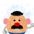 Toy Story  baby Disney, Mr. Potato Head print, poster, home decor, nursery room,