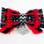 Special Snowflake Cat Bow Tie, Black, Red White, Pet Accessories, Winter