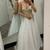 Sexy Prom Dress,Spaghetti Straps Prom Dress,Appliques Prom Dress,A-line Prom