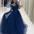 Newest Prom Dress,Off The Shoulder Prom Dress,A-Line Prom Dress,Long Prom
