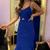 Spaghetti Straps Prom Dress,A-Line Prom Dress,Long Prom Dress,Evening Dress