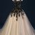 Black Tulle and Lace Applique Long Formal Dress, Black Party Dress Prom Dress