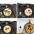 Fall art pendant necklaces, autumn, colorful seasonal necklaces for Fall,