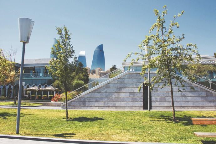 Little Venice in Baku